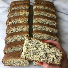Gluten-free Lemon Poppy Seed Loaf