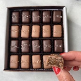 Fran's Chocolates gluten-free caramels