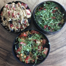 Gluten-free bowls from Sustainabowl