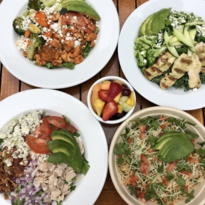 Gluten-free lunch at Piknic