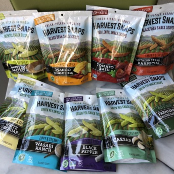 Snack crisps by Harvest Snaps