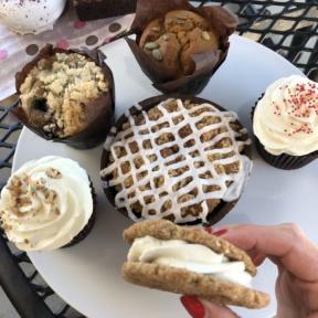 Gluten-free vegan desserts from Karma Baker