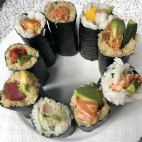 Gluten-free sushi from ROLLN