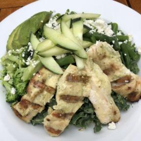 Kale salad at Piknic