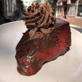 Red velvet cheesecake from Posh Pop