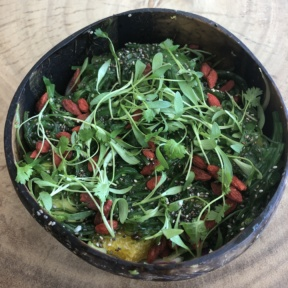 Gluten-free bowl from Sustainabowl