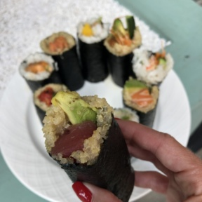 Sushi from ROLLN in NYC