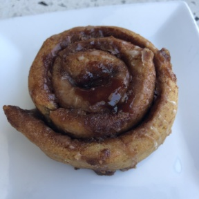 Cinnamon roll from JOi Cafe