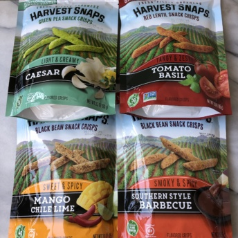 Gluten-free snack crisps by Harvest Snaps
