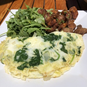 Egg white omelette from The Stand