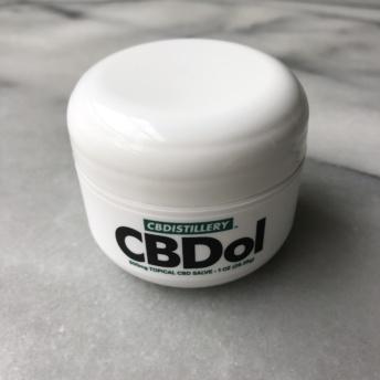 CBD salve by CBDistillery