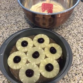 Batter for Pineapple Upside Down Cake