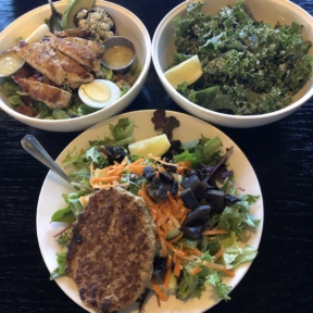 Gluten-free meal from The Morrison