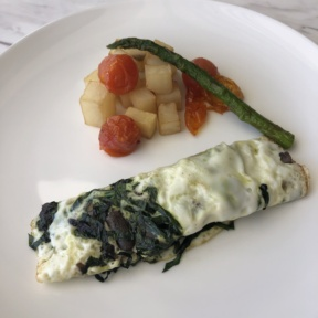Omelette from Le Blanc Room Service