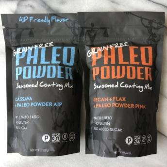 Seasoned coating mix by Paleo Powder