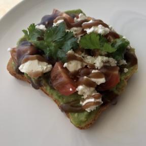 Gluten-free avocado toast from Le Blanc Room Service