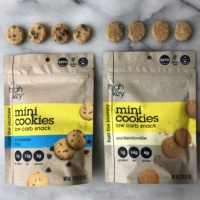 Gluten-free keto mini cookies by HighKey Snacks