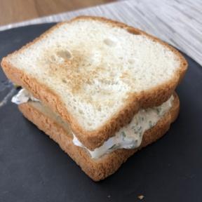 Lobster salad sandwich from Blanc International
