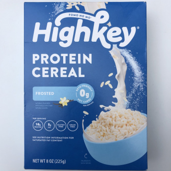 Gluten-free protein cereal by HighKey Snacks
