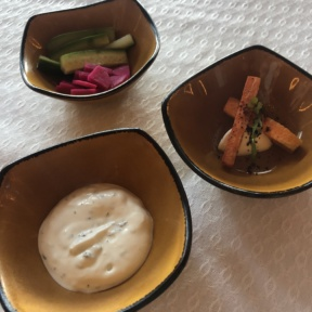 Gluten-free appetizers from Mezze