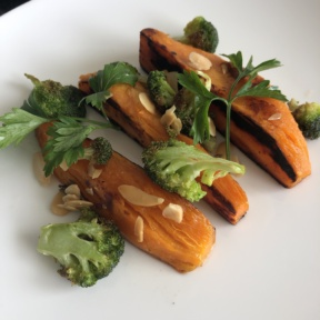 Sweet potatoes from Le Blanc Room Service