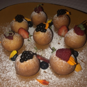 Gluten-free doughnuts from Mezze