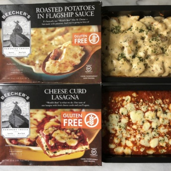 Gluten-free entrees by Beecher's Cheese