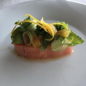 Smoked salmon from Blanc Italia