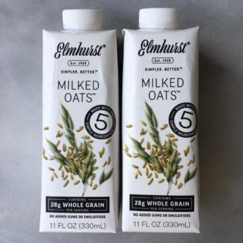 Milked oats by Elmhurst