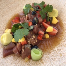 Tuna ceviche from Blanc Ocean