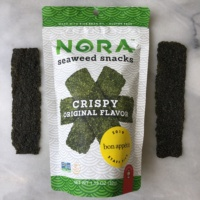 Seaweed snacks by NoraSnacks