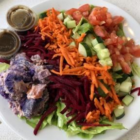 Gluten-free rainbow salad from Java Kai