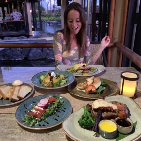 Jackie at Tidepools at Grand Hyatt Kauai