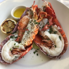 Gluten-free lobster from Merriman's