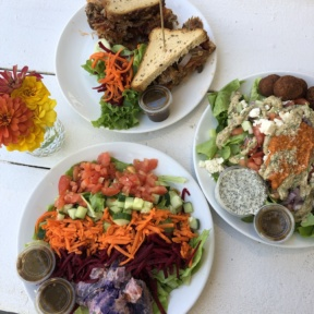 Gluten-free lunch from Java Kai