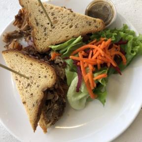Gluten-free sandwich from Java Kai