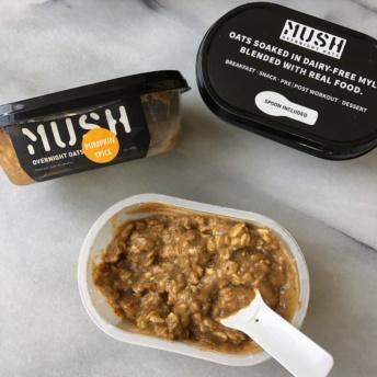 Gluten-free pumpkin spice oats by MUSH