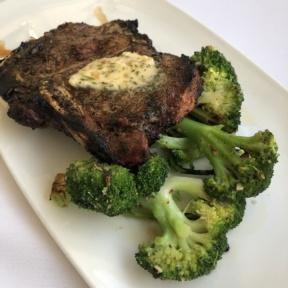Steak from Merriman's Fish House