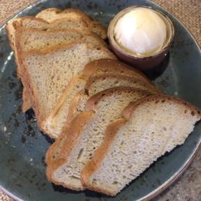 Gluten-free bread from Tidepools