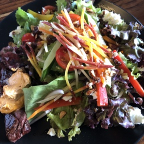 Gluten-free salad from Avalon Gastro Pub