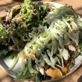 Gluten-free vegan burrito from Fresh