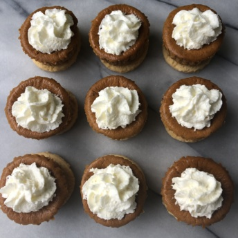 Delicious gluten-free Mini Pumpkin Pies