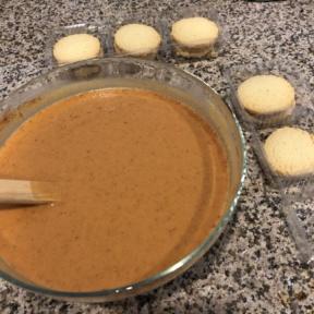 Making Mini Pumpkin Pies