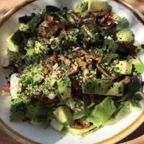 Gluten-free supergreen Caesar salad from Fresh