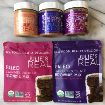 Gluten-free paleo products by Julie's Real