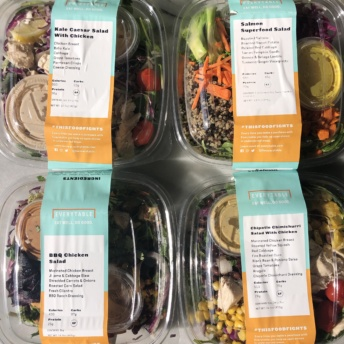 Gluten-free salads by Everytable
