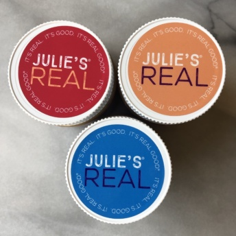 Nut butters by Julie's Real