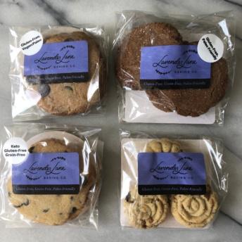 Gluten-free paleo cookies by Lavender Lane Baking Co