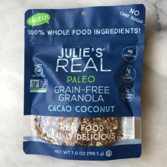 Gluten-free paleo granola by Julie's Real