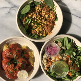 Gluten-free bowls from Everytable in LA